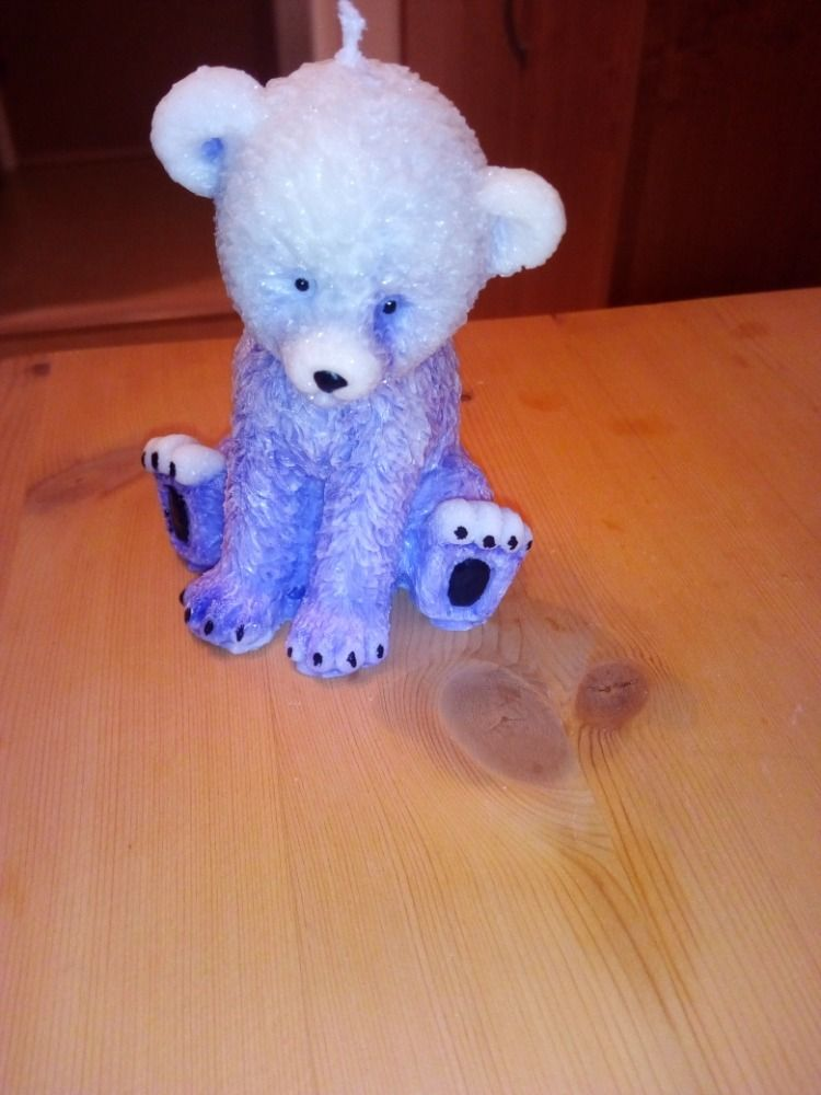 Svíčka - medvídek