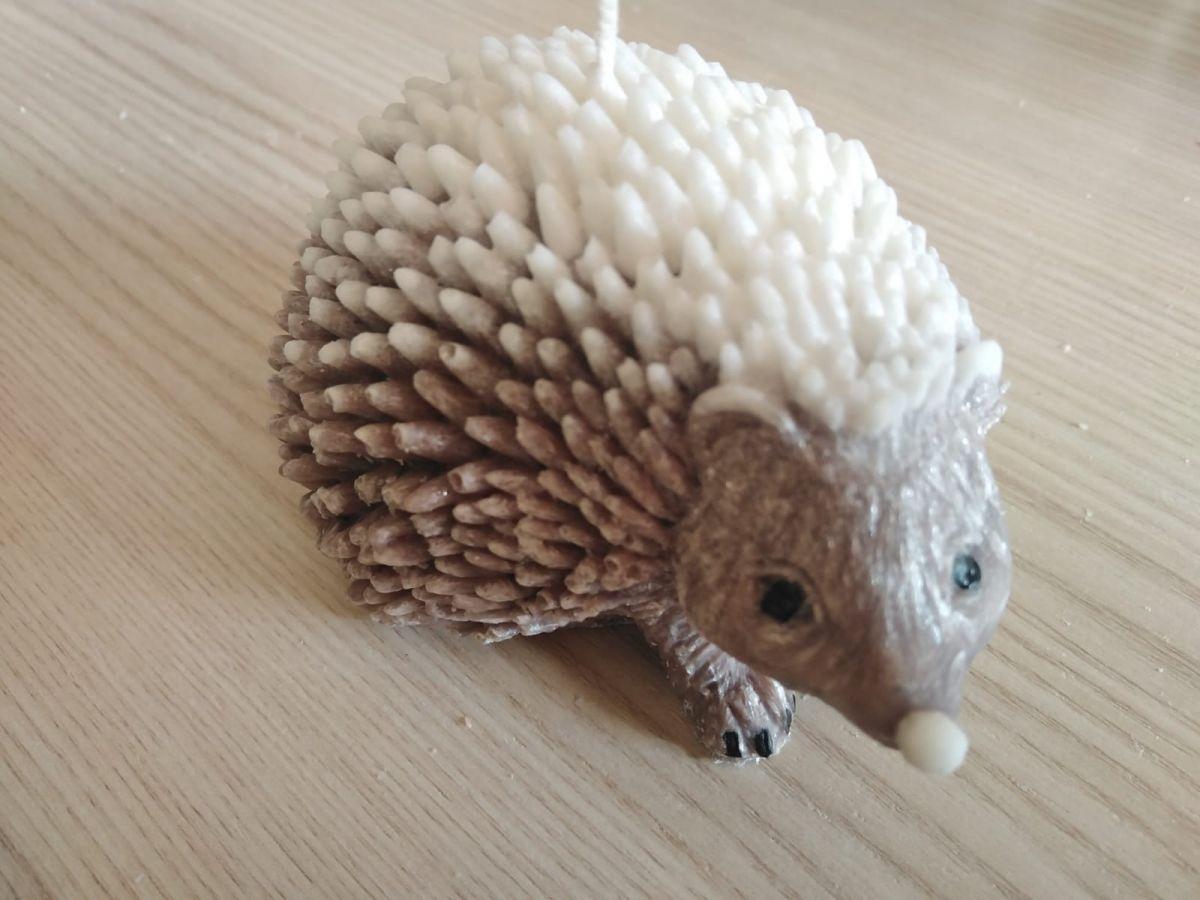 Svíčka - ježek