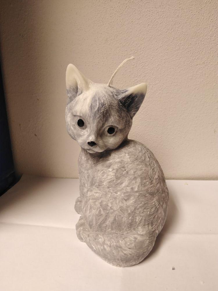 Svíčka - kočka